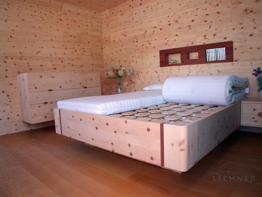Richtig Gut Leben Zirbenbett Zirbenholzbett Schlafsystem Relax