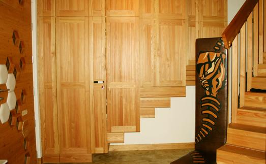 richtig gut leben massive eingangst r vorzimmer holzhaus im goldenen schnitt ausschlie lich. Black Bedroom Furniture Sets. Home Design Ideas