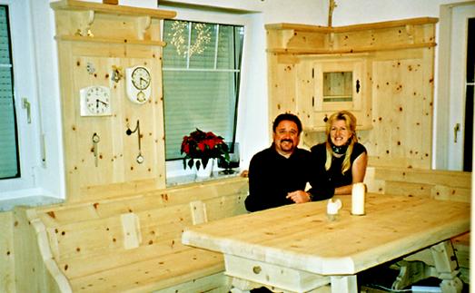 zirben wohnzimmer:traditionelle Zirbenstube Vollbild anzeigen